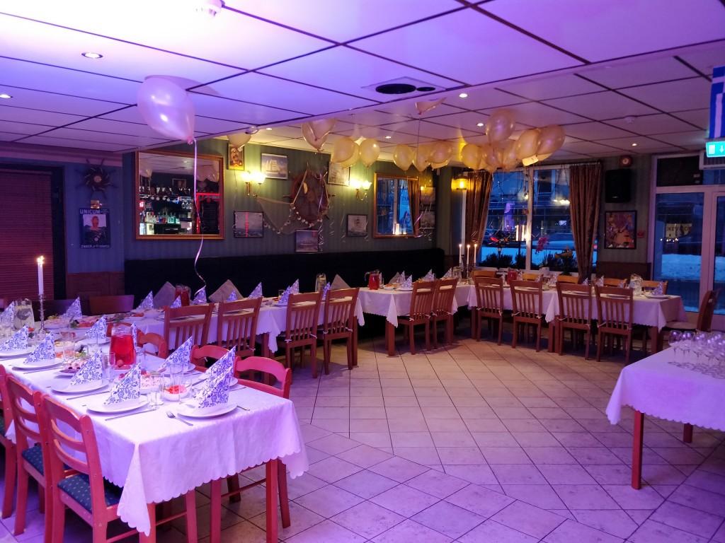 sünnipäev restoranis